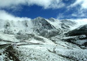 红四方面军是最早踏入雪山地区的部队,由于曾三次跋涉雪山草地,在雪线以上区域停留时间最长