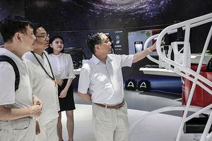 跳出印刷看印刷,中国印工协理事长(扩大)会代表一行走访深圳创新企业