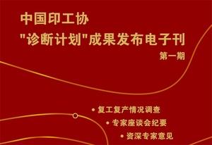 """中国印工协""""诊断计划""""成果发布电子刊第一期(2020年2月29日)"""