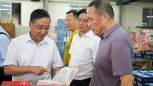 中国印工协徐建国理事长一行走访阳光印网、中科印刷