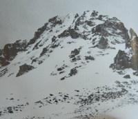 红一方面军1935年6月翻越过的第一座雪山——夹金山