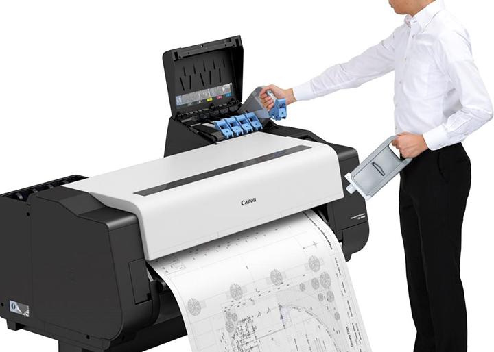 05 imagePROGRAF TX系列提供了丰富的墨盒搭配选择,助力实现不停机更换墨盒_看图王.png
